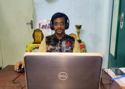 Virtual Event Emcees Corporate Anchor Thamizharasan for Remote Events