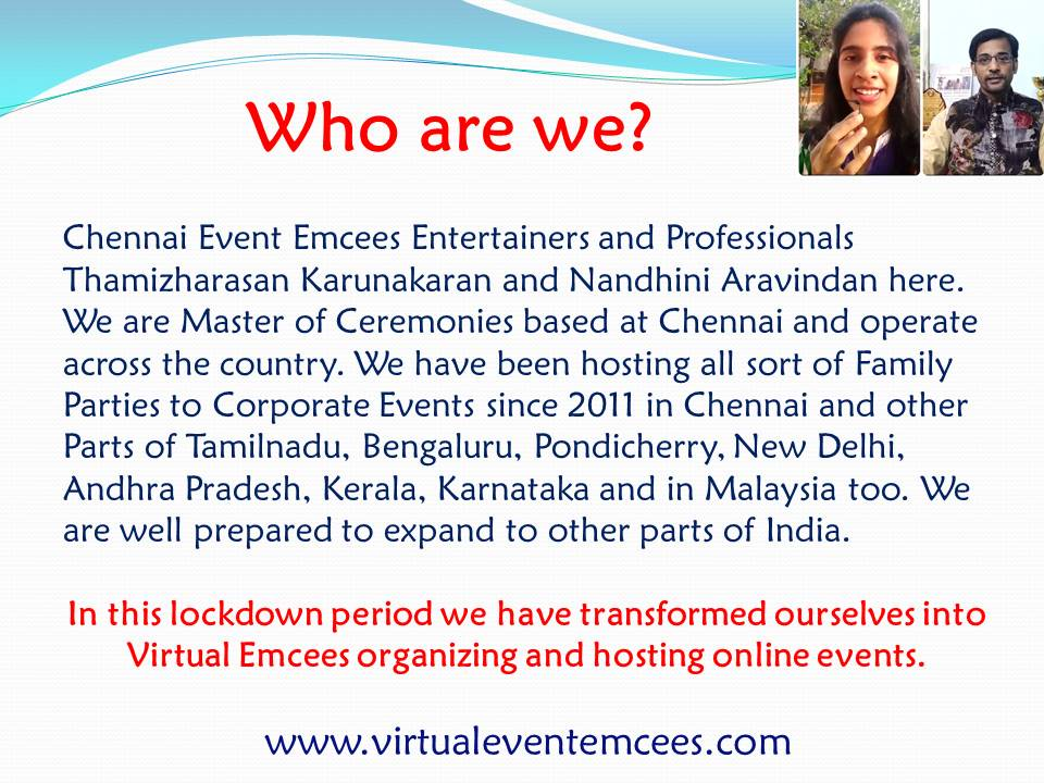 Virtual Event Emcees for Online Training Programs_Who are we
