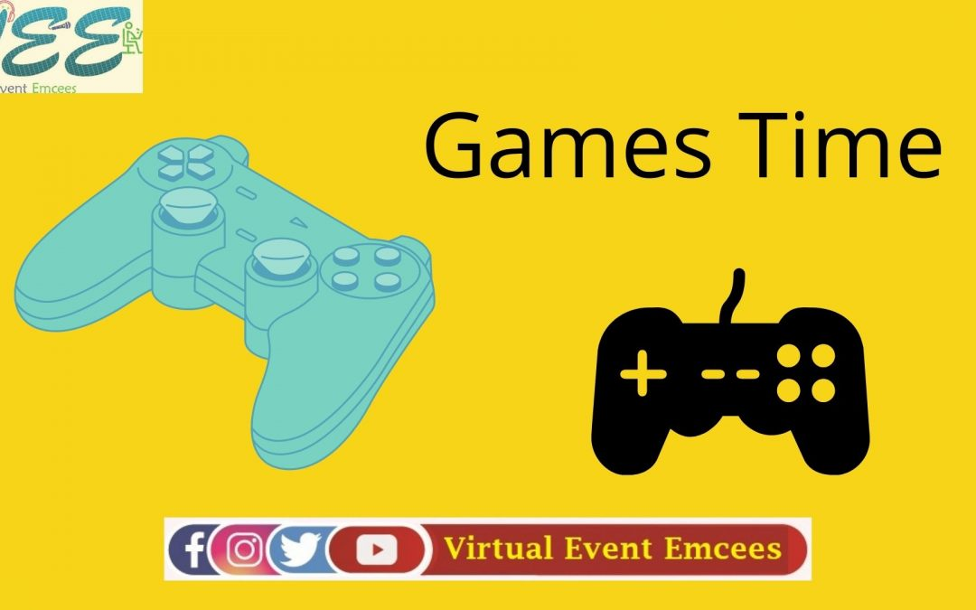 Online Fun and Team Games in Zoom by Virtual Event Emcees