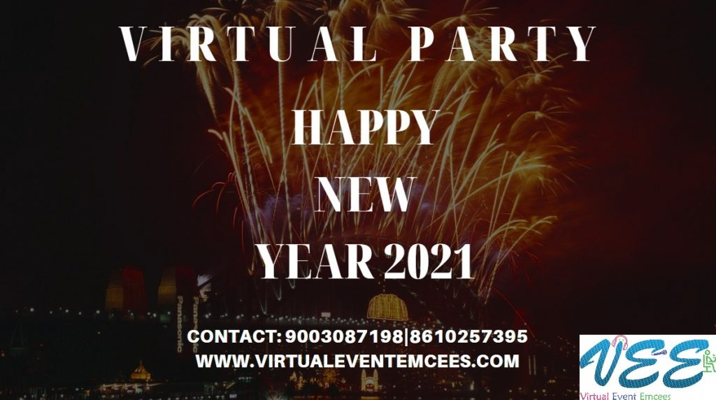 Happy New Year 2021 wishes from Virtual Event Emcees