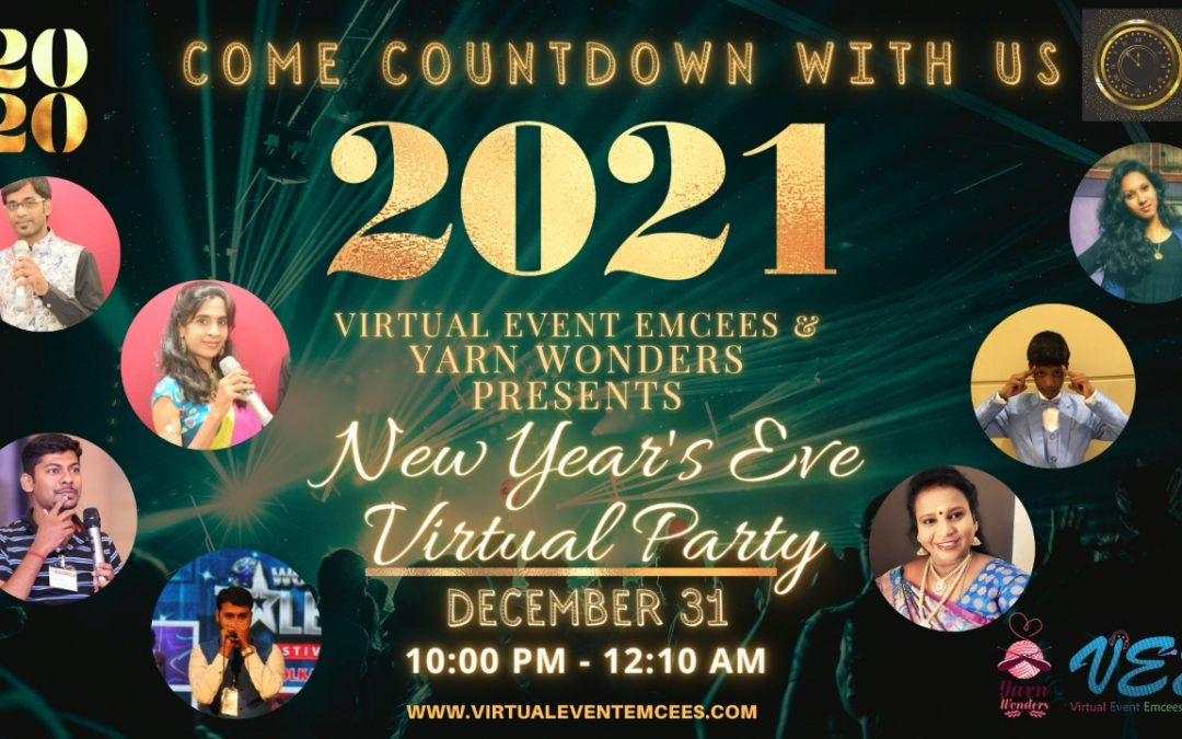 Let's Knock Down the Lock Down and not Stop the New year Count Down!