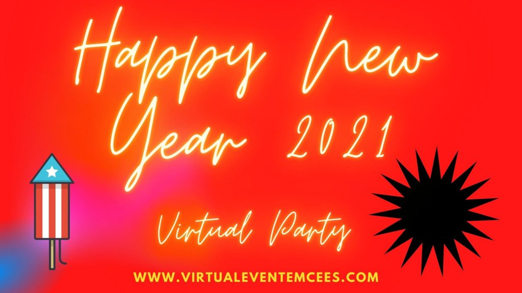 Virtual New Year Party Event 2021 by Chennai Event Emcees and Entertainers