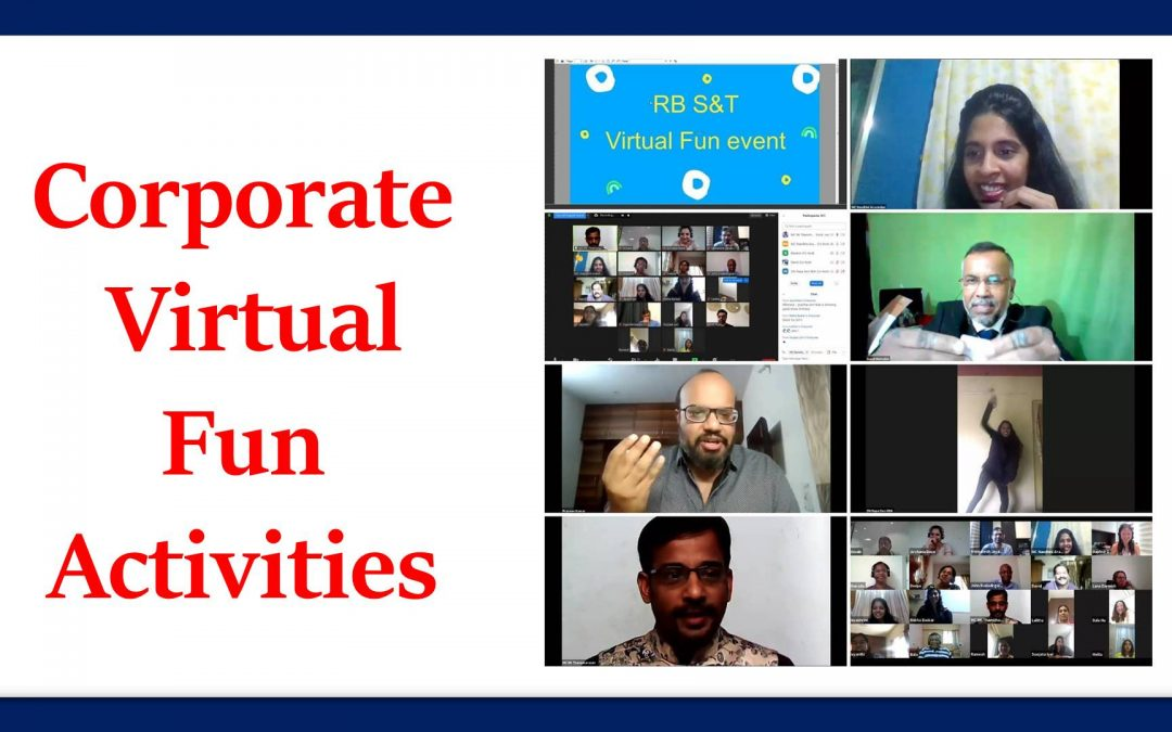 Corporate Online Fun Activities Plan by Virtual Event Emcees